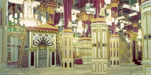 Maqam Rasullullah di dalam Masjid Narbawi, Madinah