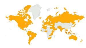 ApanamaDotcom telah mendapat sambutan yang menggalakkan dari 102 buah negara di seluruh dunia