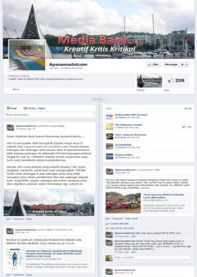 ApanamaDotcom versi Facebook lebih terbuka minda dalam mengkritik permasalahan sosio-politik dan masyarakat