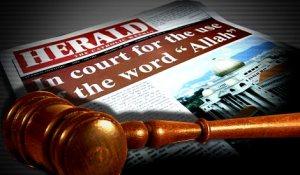 """Punca perdebatan kalimah """"Allah"""" bermula semasa permohonan memperbaharui permit akhbar Herald – The Catholic Weekly kepada Kerajaan"""