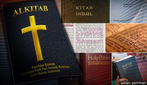Terjemahan kata ganti nama God atau Lord di dalam Bible cuba digantikan kepada nama Allah dalam versi bahasa Melayu