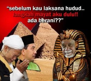 Bagaimanakah Hudud boleh dilaksanakan oleh PR jika DAP menentang habis-habisan