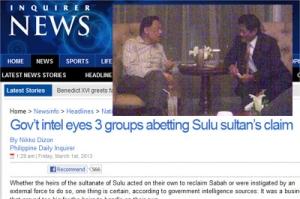 Pertemuan sulit Anwar bersama Misuari tidak dapat diselindung lagi kerana ianya telah disahkan oleh perisikan Filipina