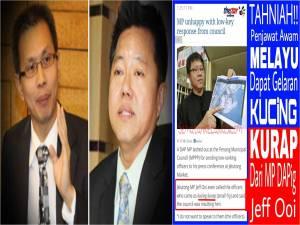 Sikap pimpinan DAP yang sombong, bongkak dan cauvinis terhadap kaum Melayu amatlah dikesali