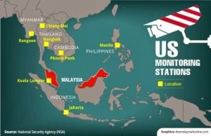 """Pengintipan perbualan pemimpin di Asia Tenggara seperti Indonesia, Filipina dan Malaysia telah mengesahkan lagi peranan Singapura sebagai """"musang berbulu ayam"""""""