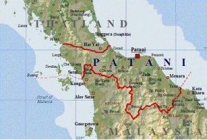 Wilayah Pattani mempunyai rupa bumi  strategik dan kaya dengan hasil sumber alam semulajadi