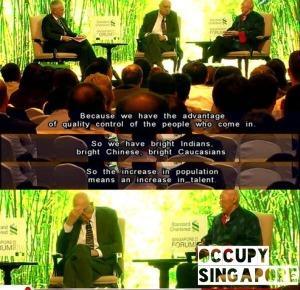 Polisi kerajaan Singapura yang memisahkan kaum Melayu secara sistematik telah menjadikan suara Melayu diketepikan dalam pentadbiran. Penyediaan skim perumahan dibahagikan mengikut kouta kaum