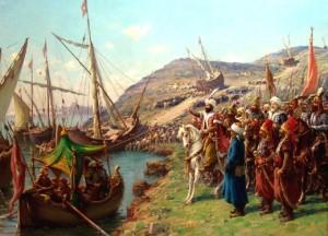 Kemunculan Empayar Othmaniyyah yang meliputi Eropah dan Asia amatlah digeruni oleh Barat