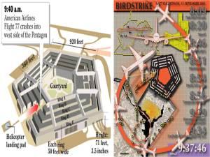 Kehilangan 64 penumpang American Airlines Flight 77 semasa serangan teroris di Pentagon amat misteri dan meragukan