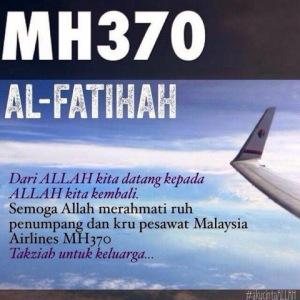 MH370 - alFatihah
