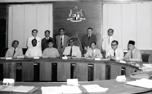 Majlis Perundangan Persekutuan menjalankan tanggungjawab sebagai sebuah Dewan Parlimen sehingga dibubarkan pada Jun 1959.