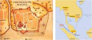 Kehebatan pemerintahan Kesultanan Melayu Melaka digambarkan sebagai kota pentabiran, ekonomi dan pertahanan yang ulung di Nusantara pada awal abad ke-14.
