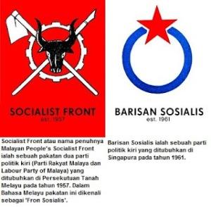 Pergabungan Parti Buroh Malaya dan Parti Rayat Malaya telah membentuk Parti Sosialis Rakyat pada tahun 1957.