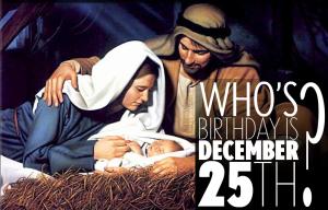 Benarkah Isa dilahirkan pada 25 Disember?